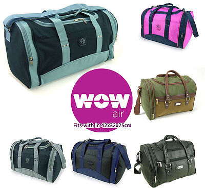 Wow Air Personal Item cabin bag hand luggage fits in 42x32x25cm Massive