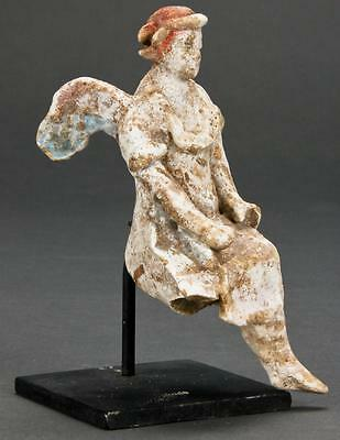 Ancient Greek Terracotta Figure Of Eros c.4th century BC