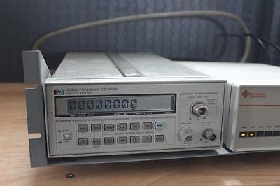 HP 5386A Frequency Counter with ICS Busmate Model 2348 IEEE 488 Controller
