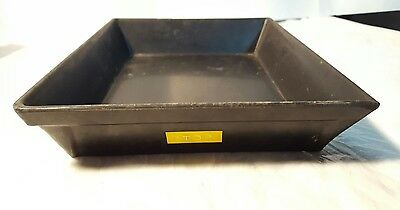 3 Vintage Rexo Hard Rubber Film Developing Trays for 4x5 prints