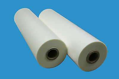 Soft Touch Matte Laminating Film (18 in x 500 ft) 1inch Core 1.5mil (30 Micron)
