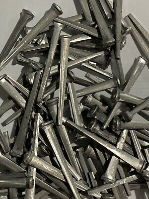"""New Tremont Antique Re-Pro. Steel Common Rosehead  2-1/2"""" Cut Nails 1 Pound"""