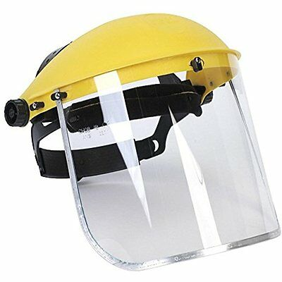 Safety Face Shields Clear Full Face Shield Visor Mask - Face And Head Coverage-