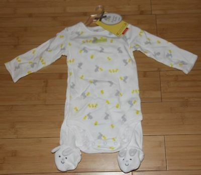 Precious Firsts Carter's My First Easter Bunny Chick Bodysuit/Pant Set 6 Months