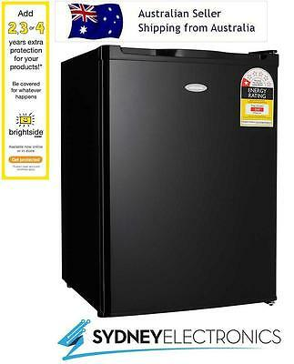 Brand New Heller 70L Mini Black Bar Fridge- BFH70B