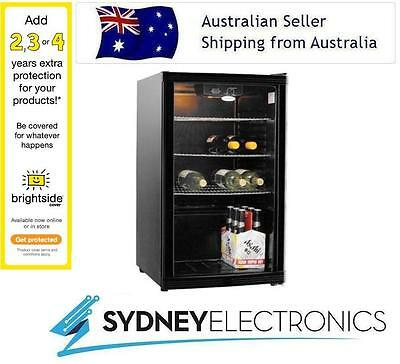 New Heller 115L Litre Beverage Glass Door Bar Cooler- HBC115B