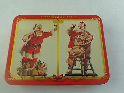 Coca-Cola Playing Cards with Collectible Tin