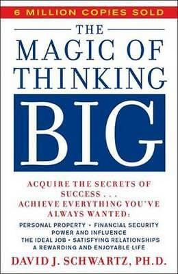 NEW The Magic of Thinking Big By David Schwartz Paperback Free Shipping