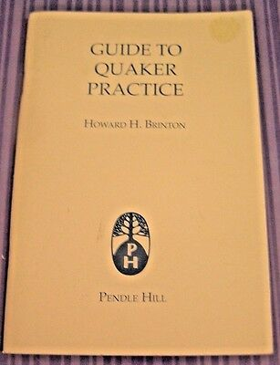 Vintage Booklet Guide To Quaker Practice Vintage Fourteenth Printing March 1993