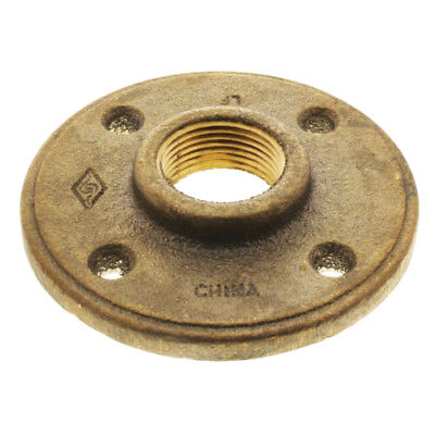"1/2"" BRASS FLOOR FLANGE fitting pipe npt LEAD FREE"
