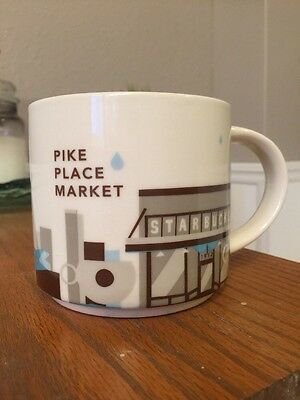 STARBUCKS You Are Here Collection PIKE PLACE MARKET Mug
