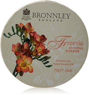 Bronnley, Freesia, Talco in polvere, 75 g