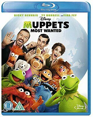 Muppets Most Wanted [Blu-ray] - DVD  WMVG The Cheap Fast Free Post