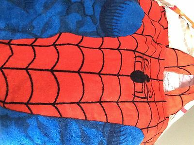 Spider-Man Towel/Poncho Style With Hood