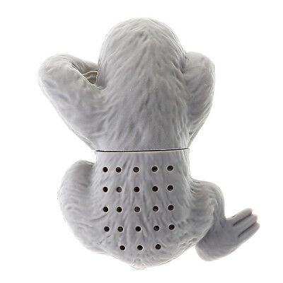 Reusable Silicone Cute Sloth Tea Infuser Filter Spice Strainer Steeper Diffuser