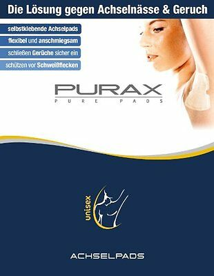 Purax Pads Pure Set di 5 scatole 2 patch ascellari