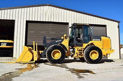 2011 John Deere 544K Wheel Loader - E6184 Wheel Loaders