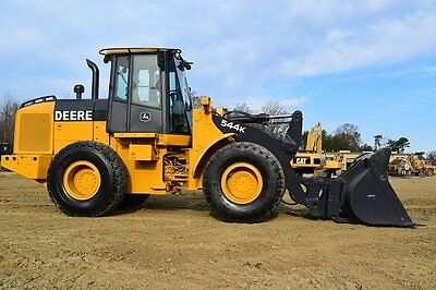 2010 John Deere 544K Wheel Loader- E6195 Wheel Loaders
