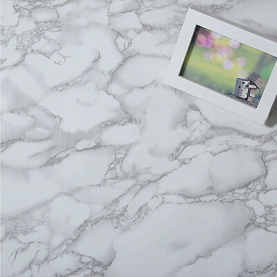 Granite Marble Effect Contact Wall paper Self Adhesive Peel Stick Paper