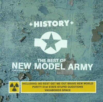 History: The Best Of New Model Army -  CD IVVG The Cheap Fast Free Post The
