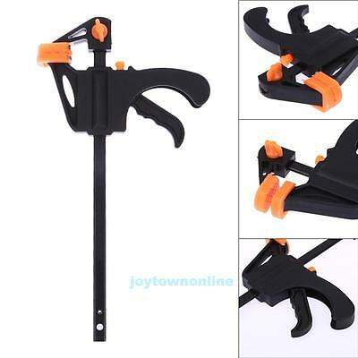 "4"" F woodworking Clamp Clip Quick Grip Heavy Duty Wood Carpenter Tool Clamp NEW"