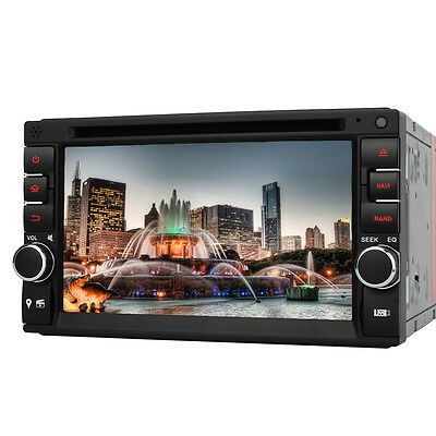 "6.2"" 2 Din Car DVD player GPS Radio stereo FM USB SD Bluetooth DTV Mirror link"
