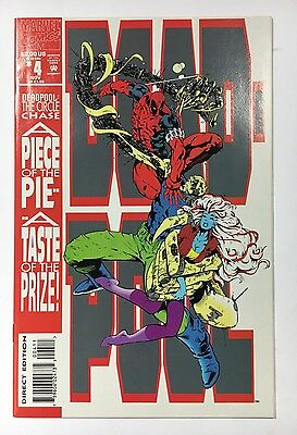 Deadpool #4 Circle Chase VF to  Nm  Marvel Comic  Combined Unlimited Shipping!
