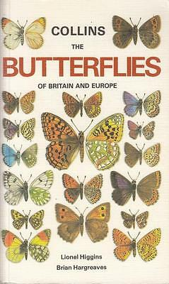 The Butterflies of Britain and Europe - L Higgins - Collins - Good - Paperback
