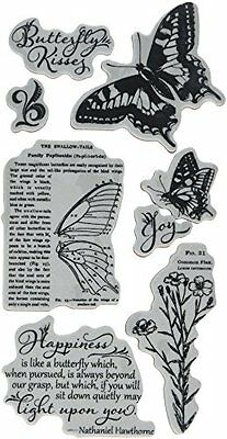 Graphic 45 Ic0374 Nature Sketchbook Cling Stamp (Set Of 1) Craft High Quality Ne