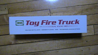 1989 Hess Toy Fire Truck Dual Sound Siren   PS