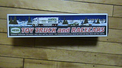 HESS 2003 Toy Truck and Racecars     PS