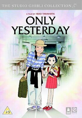 Only Yesterday [DVD] - DVD  FSVG The Cheap Fast Free Post