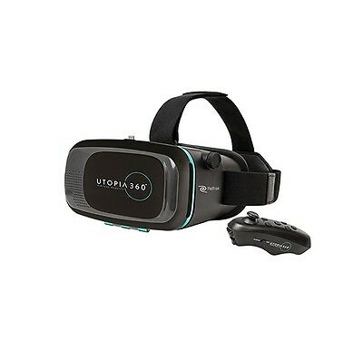 Retrak Utopia 360 Virtual Reality 3D Headset with Bluetooth Control
