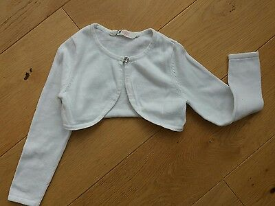 Cute Little Bolero Style Girls Cardigan H&m  Age 4-6 Years