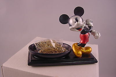 Disney Mickey Mouse Resin Paperclip Holder In Metallic Finish