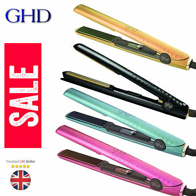 GENUINE WOMEN LADIES GHD HAIR STYLER STRAIGHTENERS 5.0 Rose Gold HOT PINK COLOUR
