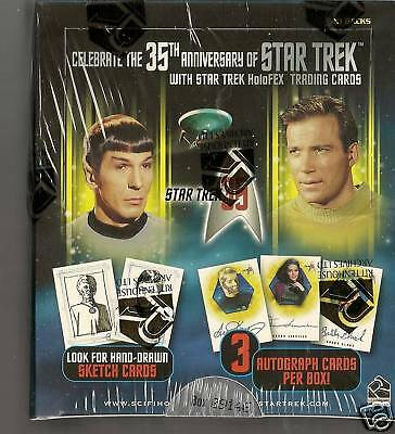 Star Trek 35th Anniversary sealed Box