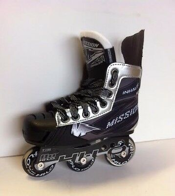 Mission NLS6 Inline Roller Hockey Skates Youth Sizes