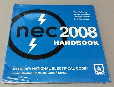 NEC 2008 Handbook CD NFPA 70 National Electrical Code Series CD-Rom
