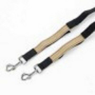 Elasticated side reins ( breaking training equestrian horse pony adjustable )
