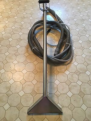 """PMF 48"""" Stainless Wand w/ Single Jet 12"""" Head, 14' Hose,Tubing Carpet Cleaning"""