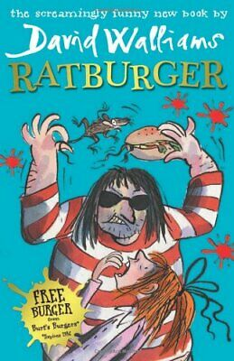 Ratburger by Walliams, David Book The Cheap Fast Free Post