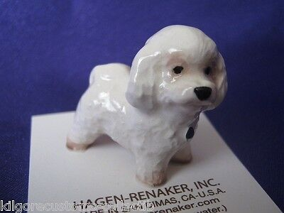 Hagen Renaker Dog Bechon Frise Figurine Miniature 03272 FREE SHIPPING New