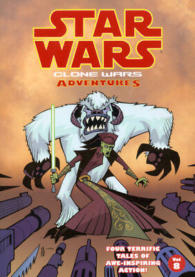 Star Wars: Clone wars adventures. Vol. 8 by Jeremy Barlow (Paperback)