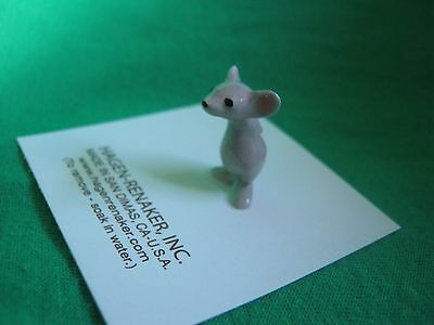 Hagen Renaker Little Brother Mouse Figurine Miniature 0296 FREE SHIPPING NEW