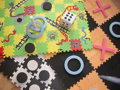 Traditional Garden Games 5 Big Games in One Set Family Summer Outdoor Draughts