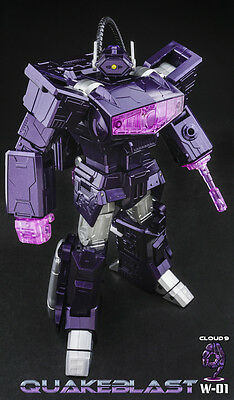 New Transformers Cloud 9 Toy W-01 Quakeblast Shockwave in Stock
