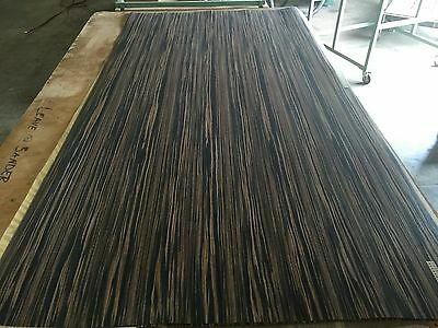 "Wood Veneer Recon Ebony 48x98 1pcs total 10Mil Paper Backed ""EXOTIC"" Stock"