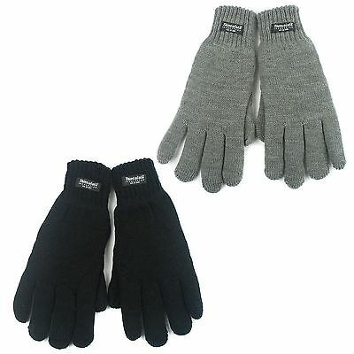 Acrylic Knitted Gloves with Thinsulate Lining