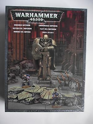 Games Workshop Warhammer 40K - Honoured Imperium Scenery - New & Sealed
